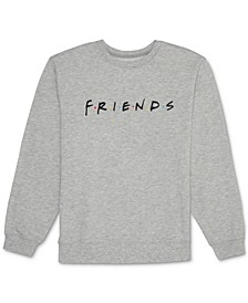 Juniors' Friends Logo Fleece Sweatshirt