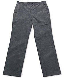 Men's Flat-Front Corduroy Pants, Created for Macy's