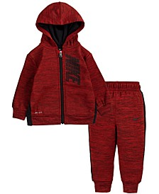 Baby Boys Therma Full-Zip Hoodie and Joggers Set