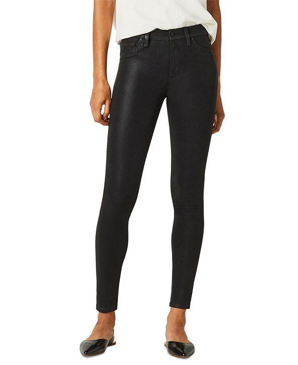 Hudson Jeans Barbara Coated Skinny Jeans