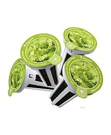 KLG0001 8 capsule seed kit - Green Lettuce