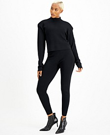 CULPOS x INC Mock-Neck Sweater, Created for Macy's