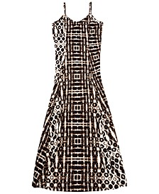 INC Batik-Print Maxi Dress, Created for Macy's