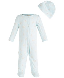 Baby Boys Giraffe Coverall Set, Created for Macy's