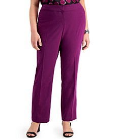 Trendy Plus Size Flare-Leg Pants, Created for Macy's