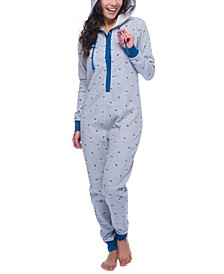 Star Wars R2-D2 Hooded Fleece Union Suit Pajamas