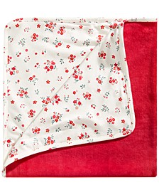 Baby Girls Floral-Print Blanket, Created for Macy's