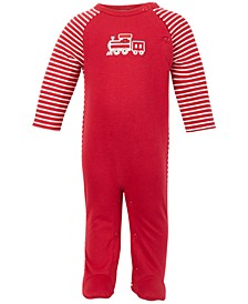 Baby Boys Train Coverall, Created for Macy's