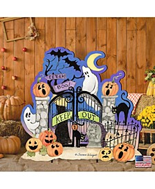 by Susan Winget Keep Out Halloween Wall and Door Decor