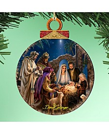by Dona Gelsinger Miracle Nativity Ornament, Set of 2