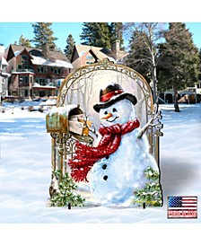 by Dona Gelsinger Seasons-Greetings Snowman Home and Outdoor Decor