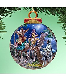 by Dona Gelsinger The Magic Wrap Ornament, Set of 2