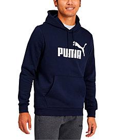 Puma Men's Fleece Logo Hoodie