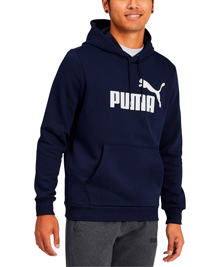 Puma - Men's Fleece Logo Hoodie