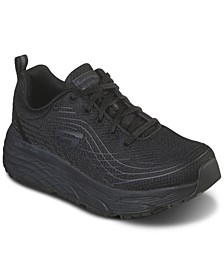 Women's Relaxed Fit- Max Cushioning Elite Slip-Resistant Work Sneakers from Finish Line