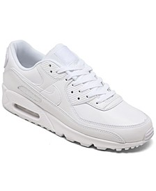 Men's Air Max 90 Leather Casual Sneakers from Finish Line