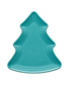 Turquoise Tree Plate