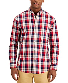 Men's Matt Plaid Shirt, Created for Macy's
