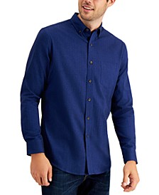 Men's Soft Brushed Cotton Shirt, Created for Macy's