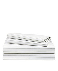 Spencer Striped King Sheet Set