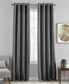 "Huxley Geometric 52"" x 95"" Blackout Curtain Panel"