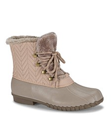 Flash Water Resistant Women's Duck Boot