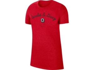 Nike Ohio State Buckeyes Women's Marled T-Shirt