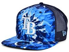 Tampa Bay Rays Tie Dye Mesh Back 9FIFTY Cap