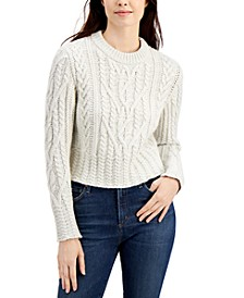 Joetta Cable-Knit Sweater