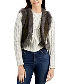 Afia Faux-Fur Vest
