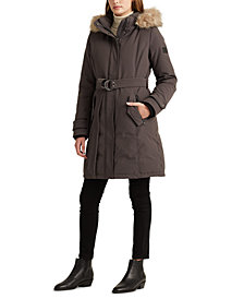 Lauren Ralph Lauren Belted Expedition Down Coat