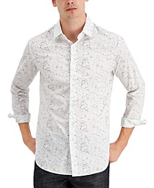 Men's Pavement Woven Shirt, Created for Macy's