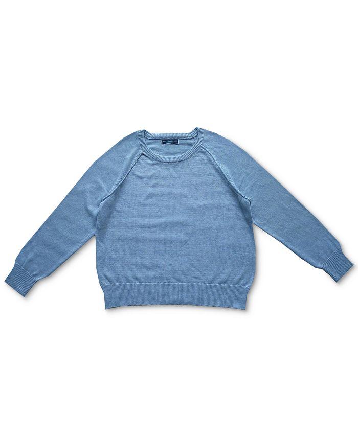 Karen Scott - Crewneck Cotton Sweater
