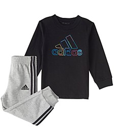 Baby Boys Long Sleeve Playtime Top & Jogger Set