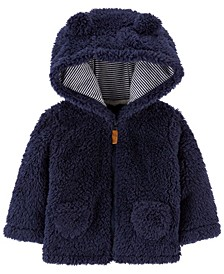 Baby Boy  Hooded Sherpa Jacket
