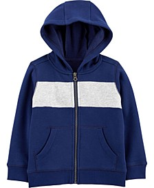 Baby Boy  Zip-Up Fleece Hoodie