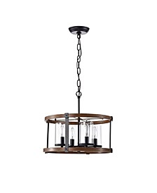 "Akua 16.14"" 4-Light Indoor Chandelier with Light Kit"