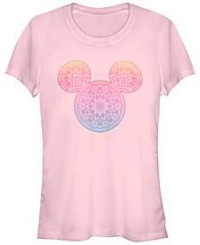Women's Disney Classic Mickey Mandala Fill Short Sleeve T-shirt