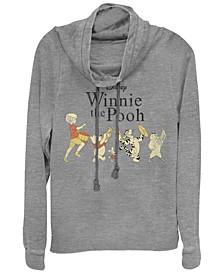 Women's Winnie the Pooh Parade Fleece Cowl Neck Sweatshirt
