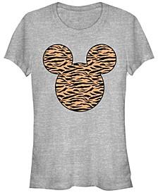 Women's Disney Classic Mickey Tiger Fill Short Sleeve T-shirt