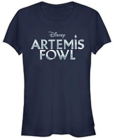 Women's Artemis Fowl Metallic Logo Short Sleeve T-shirt