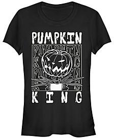 Women's Nightmare Before Christmas Pumpkin King Short Sleeve T-shirt