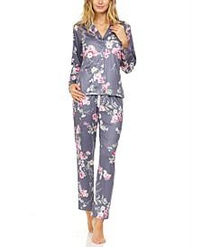 Patricia Floral-Print Pajama Set