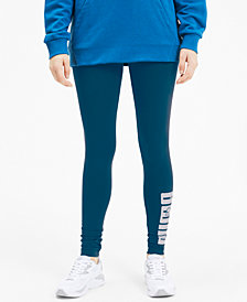 Puma Women's Rebel Logo Leggings