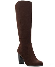 Style & Co Addyy Extra Wide-Calf Dress Boots, Created for Macy's