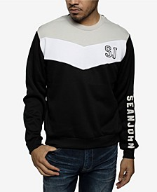 Men's Contrast Chevron Sweatshirt