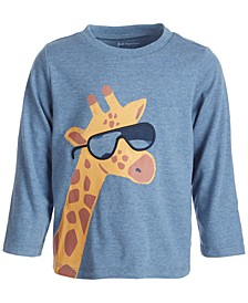 Toddler Boys Cool Giraffe Tee, Created for Macy's