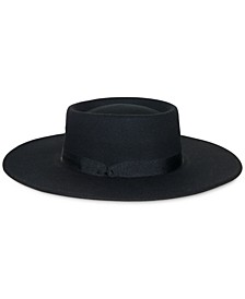 Wool Felt Telescope Floppy Hat