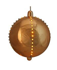 LED Lighted Copper Cascading Sphere Christmas Ball Ornament