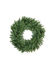 Buffalo Fir Artificial Christmas Wreath-Unlit